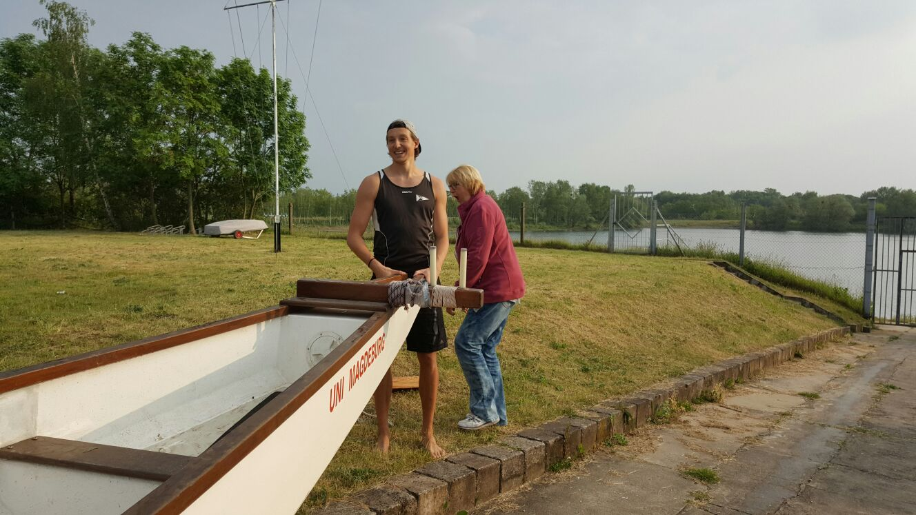 Drachenboot Training 2016